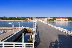Sopot resort in Poland Stock Photography
