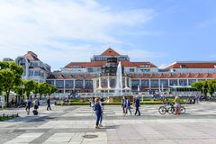 Sopot SPA. View of SPA House on 26 May 2018 in Sopot, Poland Stock Photos