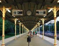 Sopot stacja kolejowa Zdjęcia Stock