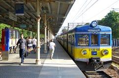 Sopot Szybka Miastowa stacja kolejowa Obraz Royalty Free
