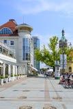Sopot ulica Zdjęcie Stock