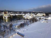 Sopot in winter scenery. Sopot, Pomerania, Poland royalty free stock photo
