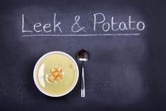 Soppa av dagen Fotografering för Bildbyråer