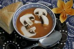 Soppa av tomater Arkivfoto