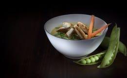 Soppa för ärtaväxt Royaltyfria Bilder