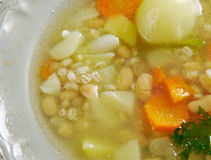 Soppa för bönan'korn Royaltyfria Foton