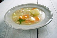 Soppa för bönan'korn Fotografering för Bildbyråer