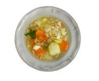 Soppa för bönan'korn Arkivfoton