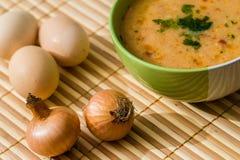 Soppa för köttboll Arkivfoto