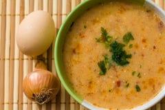 Soppa för köttboll Arkivbild