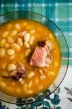 Soppa för torkad böna för vit Royaltyfri Foto