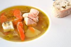 Soppa för tre fisk Arkivfoton