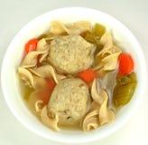 Soppa för Matzoboll Arkivfoto