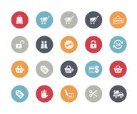 Sopping Icons // Classics Series. Vector icons set for your web or presentation projects Stock Images