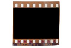 Soppressione il blocco per grafici di 35mm Immagine Stock Libera da Diritti