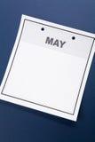 Soppressione il calendario Fotografia Stock Libera da Diritti