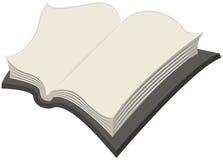 Soppressione il libro aperto Fotografia Stock Libera da Diritti