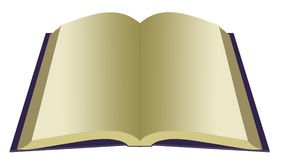 Soppressione il libro aperto Immagine Stock Libera da Diritti