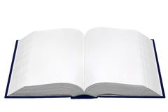 Soppressione il libro aperto immagine stock