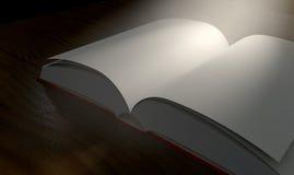 Soppressione il riflettore aperto impaginato del libro royalty illustrazione gratis