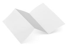 Soppressione l'aletta di filatoio piegata su bianco Fotografia Stock Libera da Diritti