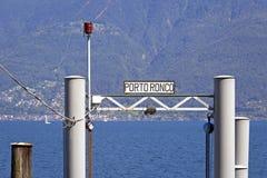 Sopra Ascona di Ronco Immagini Stock Libere da Diritti