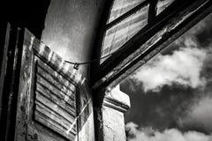 Sopra il cielo Fotografie Stock