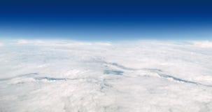 Sopra il cielo - panorama immagini stock
