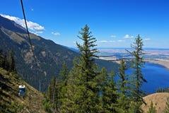 Sopra il lago Wallowa, l'Oregon Immagini Stock