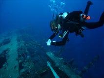 Sopra il naufragio Immagine Stock Libera da Diritti