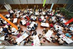 Sopra il punto di vista dei giovani Immagine Stock Libera da Diritti