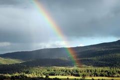 sopra il Rainbow Fotografia Stock Libera da Diritti