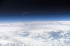 Sopra l'atmosfera Stock Photo