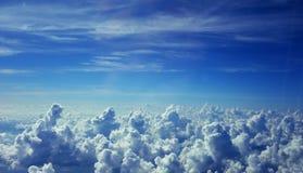 Sopra la nuvola Immagine Stock