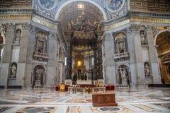 Sopra la tomba di St Peter immagini stock libere da diritti