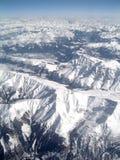 Sopra le montagne. Fotografie Stock Libere da Diritti