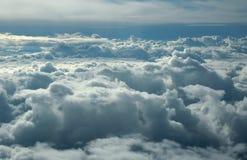 Sopra le nubi Immagine Stock