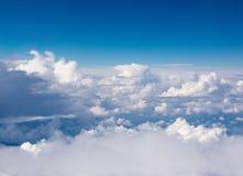 Sopra le nubi Fotografie Stock Libere da Diritti