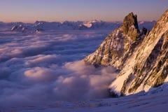 Sopra le nuvole Fotografia Stock