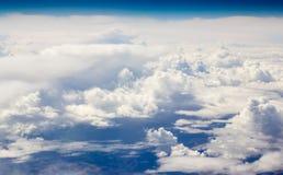 Sopra le nuvole Fotografie Stock Libere da Diritti
