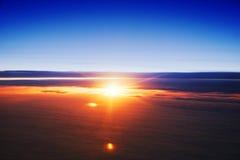 Sopra le nuvole fotografia stock libera da diritti