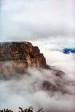 Sopra le nuvole @ Grand Canyon Fotografia Stock