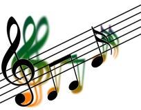 sopranów clef Fotografia Stock