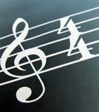 sopranów clef zdjęcia royalty free
