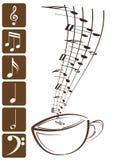 sopranów clef Obraz Royalty Free