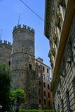 Soprana di Porta, Genova, Italia, fotografia stock