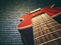 Soprano d'ukulélé de guitare Image stock