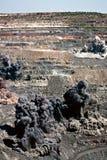 Sopre em aberto - mina do molde Foto de Stock Royalty Free