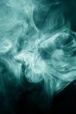 Sopro de fumo estranha dado forma foto de stock