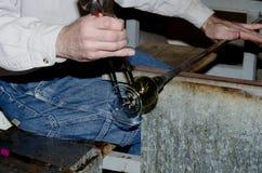 Sopro de vidro 5 Imagem de Stock Royalty Free